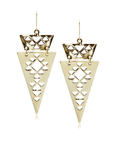 Chloe & Theodora Aztec Chevron Earrings As You See