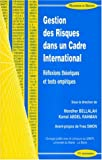 img - for Lagestion des risques dans un cadre international (French Edition) book / textbook / text book