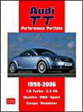 R. M. Clarke Audi TT Performance Portfolio 1998-2006 (Brooklands Books Road Test Series): A Collection of Articles Covering Road and Comparison Tests, History and ... V6, Quattro, DSG, Sport, Coupe and Roadster