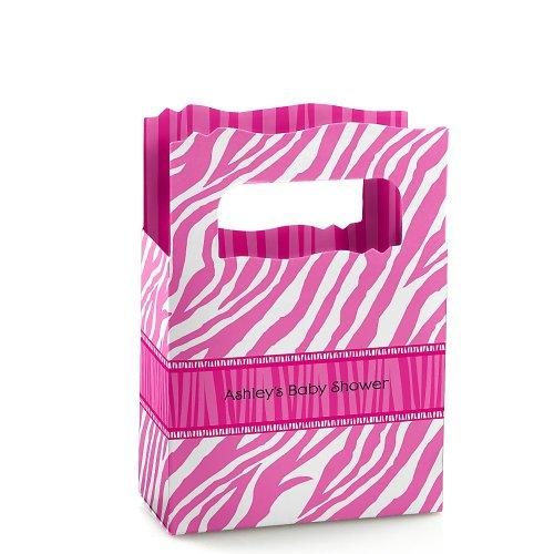 Zebra Baby Shower Favors front-731816