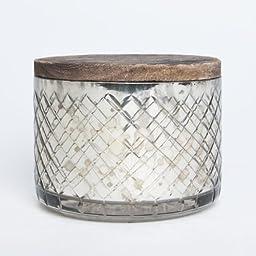 Capri Blue Mercury Glass Volcano Candle Bowl 15 Ounce