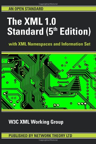 The XML 1.0 Standard (5th Edition)