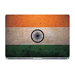 Posterboy India Flag Laptop Skin (Multicolor)