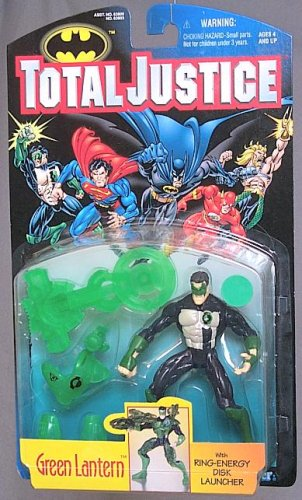 Total Justice Green Lantern Action Figure