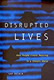 img - for Disrupted Lives: How People Create Meaning in a Chaotic World book / textbook / text book