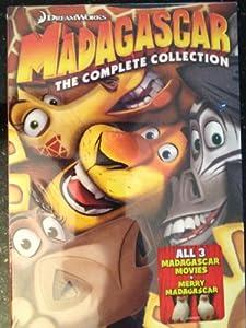 Madagascar The Complete Collection - Madagascar / Madagascar 2 / Madagascar 3 / Merry Madagascar 4-Disc DVD Collection
