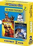 echange, troc Coffret Tes héros préférés 2 DVD : Kangourou Jack / Comme chiens et chats
