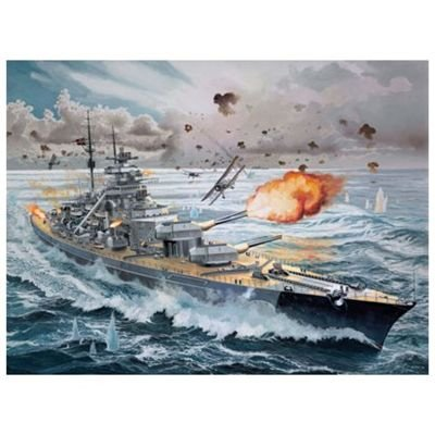 Revell Battleship Bismark (1:350)