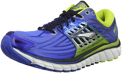Brooks Glycerin 14, Scarpe Running Uomo, Multicolore (Blau/Gelb), 44 EU