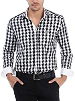 RNT23 Camisa Hombre (Negro / Blanco)