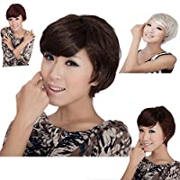 MAYSU Party Synthetic Short Curl Wigs for Women,4 Colors by MAYSU