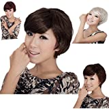 MAYSU NEW Party Synthetic Short Curl Wigs for Women,4 Colors