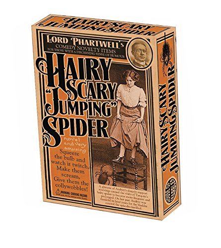 Lord Phartwell's Hairy Scary Jumping Spider Practical Joke