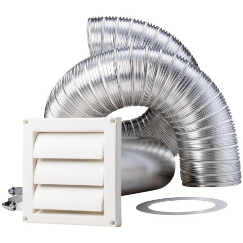 Deflecto SK8WFW  8-Feet Supurr-flex Dryer Vent Kit