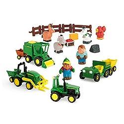 Tomy Ertl John Deere Fun On The Farm Playset
