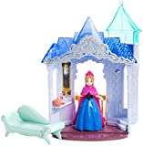 With three ways to play, this versatile castle is the perfect place for Anna, from the Disney film Frozen, to call home! The charming castle comes with a two-in-one piece of furniture that allows girls to instantly  her room into another area to play out her story. Flip Anna's chaise into a closet to go from living room to dressing room! For even more castle fun, turn the play set around to reveal a grand royal balcony on which the beloved character can stand and overlook the kingdom of Arendelle. The adorable castle set comes with Anna small doll dressed in her signature fashion in easy-to-dress MagiClip form. Fun storytelling accessories, like two perfume bottles, are also included.