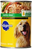 PEDIGREE CHOICE CUTS in Gravy Country Stew Canned Dog Food 22 Ounces (Pack of 12)