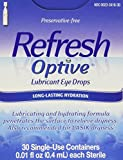 Refresh Preservative-Free Lubricant Eye Drop - 30 Single Use Containers