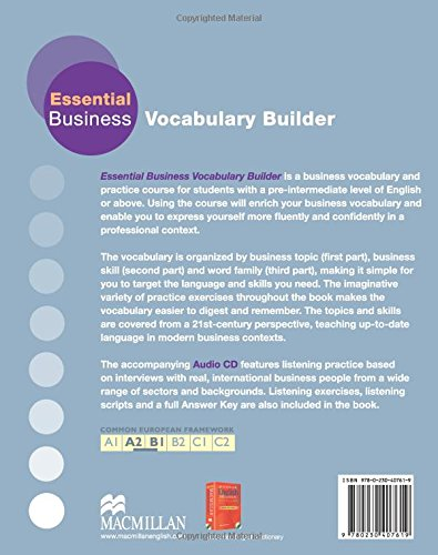 ESSENTIAL BUSINESS VOCABULARY BUILDER Pk