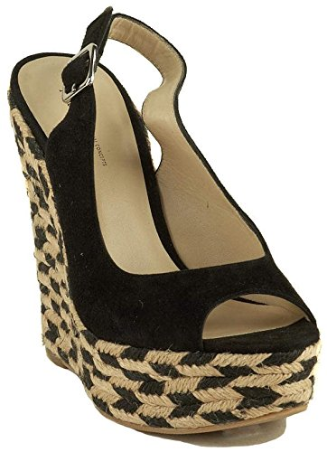 Funky Wedge Sandals front-998970