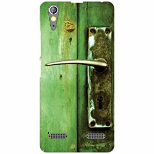 Lenovo A6000 Back Cover - Green Print Designer Cases