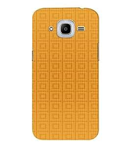 EPICCASE Yellow Box Design Mobile Back Case Cover For Samsung J2 2016 (Designer Case)
