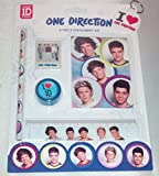 One Direction 5 Piece School Stationery & Keyring Gift Set, great for the new school term for any 1D fan