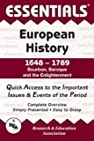 img - for Essentials of European History, 1648-1789 : Bourbon, Baroque and the Enlightenment (Essentials Study Guides) book / textbook / text book