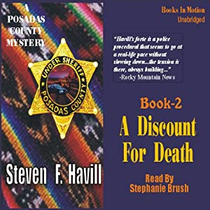 A Discount for Death | [Steven F. Havill]