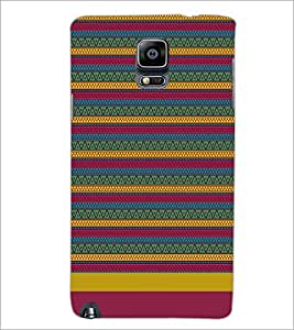 PrintDhaba Tribal pattern D-1886 Back Case Cover for SAMSUNG GALAXY NOTE 3 (Multi-Coloured)