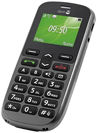 doro phoneeasy 508 sim free mobile phone. Black Bedroom Furniture Sets. Home Design Ideas
