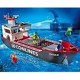"PLAYMOBIL� 4472 - Gro�es Containerfrachtschiffvon ""PLAYMOBIL"""