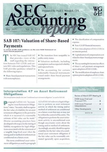 Sec Accounting Report