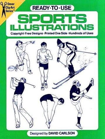 Ready-to-Use Sports Illustrations (Dover Clip Art), David Carlson