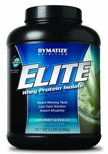 Christmas Dymatize Nutrition Elite Whey Protein Powder, Gourmet Vanilla, 5 Pound Deals