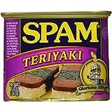 Spam, Teriyaki Flavored, 12oz Can (Pack of 6)