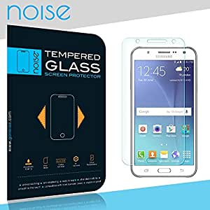 Samsung Galaxy J7 Prime (transparent) 9H Premium Tempered glass screen protector for Samsung Galaxy J7 by Noise
