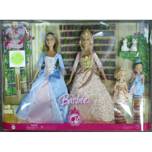 Barbie Princess and the Pauper Anneliese & Erika doll playset