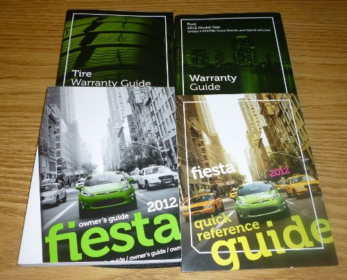 2012 Ford Fiesta Owners Manual (Ford Fiesta Manual compare prices)