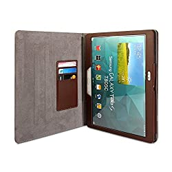 Gmyle Book Case Vintage 360 for Samsung Galaxy Tab S 10.5 - Crazy Horse Pattern