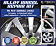 E-Tech Car Complete Alloy Wheel Refurbishment Repair Professional Kit