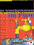 Les transformations de l'eau
