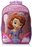 Disney Sofia The First Light Up Backpack, Pink, One Size