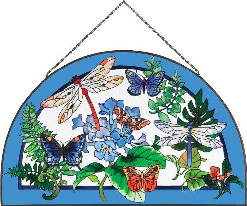 joan-baker-designs-ap528-botanical-collage-glass-art-panel-16-1-2-by-10-1-2-inch