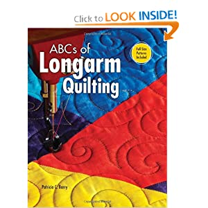 ABCs of Long Arm Quilting Patricia C. Barry