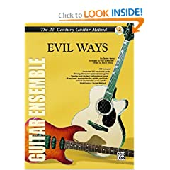 21st Century Guitar Ensemble -- Evil Ways (21st Century Guitar Method)
