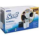 Kimberly-Clark Scott 31700 White Smoke Slimroll Starter Kit