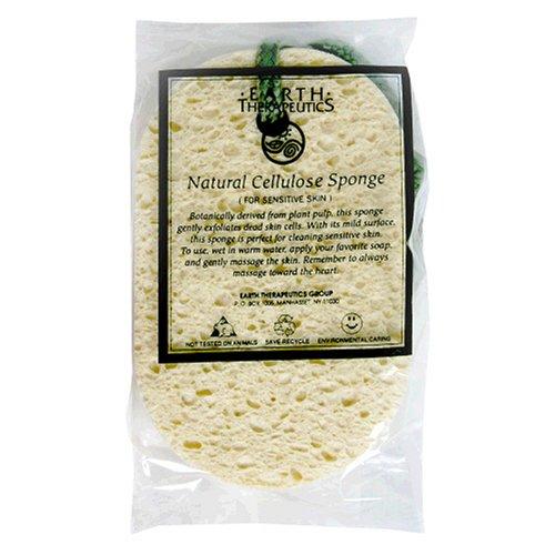 Earth Therapeutics Sponge Natural Cellulose 1 spongeB00016WSQM