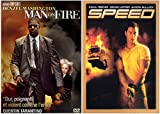 echange, troc Man On Fire / Speed - Bipack 2 DVD