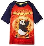 Kung Fu Panda Boys' T-Shirt (KFPTEE002_Navy_9 - 10 Years)